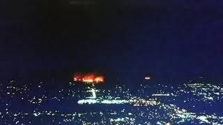 Santa Rosa Fire, Kmart Burns, Evacuation 6 a.m. 10/9/2017