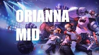 League Of Legends Orianna Mid Full Game Commentary