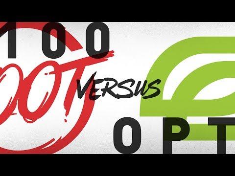 100 vs. OPT - Week 9 Day 2 | NA LCS Summer Split | 100 Thieves vs. OpTic Gaming (2018)