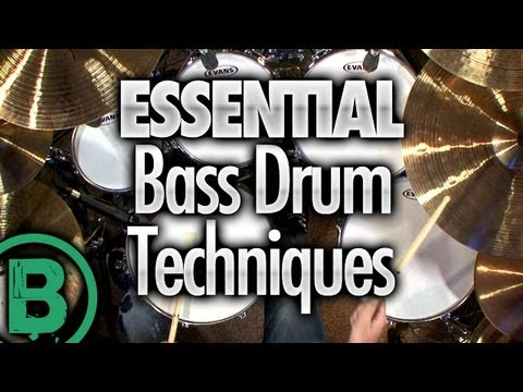 Essential Bass Drum Techniques - Beginner Drum Lessons