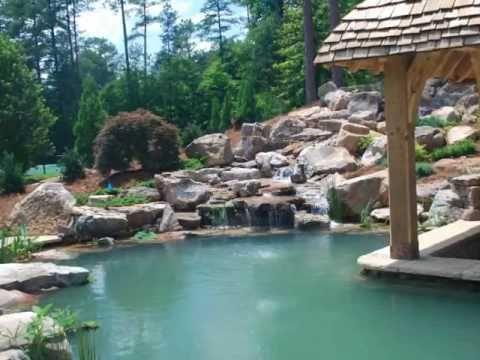 Splendor koi pond construction youtube for Koi pool construction