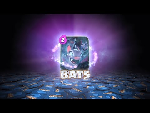 Clash Royale Introducing Bats New Card