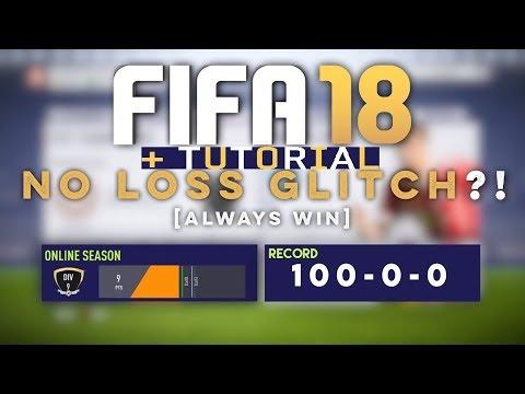 FIFA 18 No Loss Glitch Tutorial - Works in FUT Champions & DKT