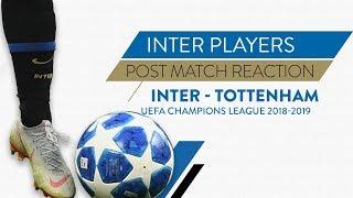 INTER TOTTENHAM 2-1 | Icardi, Skriniar and De Vrij interviews | Post match reaction