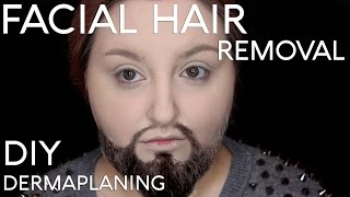 SHAVING MY FACE | DIY Dermaplaning | RawBeautyKristi
