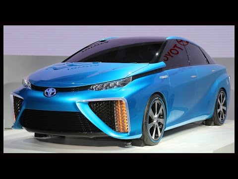 2015 Toyota FCV - The Rise Of Hydrogen Fuel Cell Cars Begins