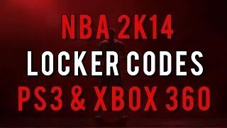 NBA 2K14 Locker Codes: Random Unlockable (PS3/Xbox 360