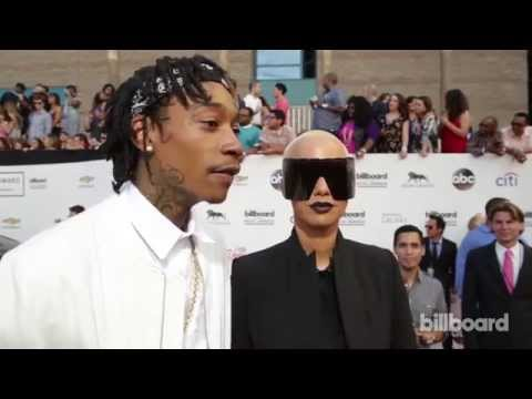 Wiz Khalifa & Amber Rose: Billboard Music Awards Red Carpet 2014