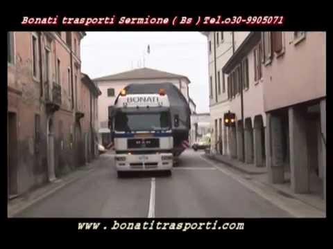 BONATI TRASPORTI NAUTICI YACHT 72 PIEDI  BOAT TRANSPORT