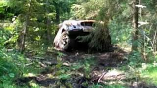 Isuzu Vehicross in mud