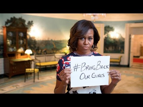 First lady: Nigeria kidnappings 'unconscionable'