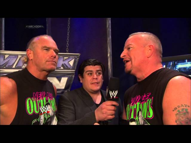 Ricardo interviews the New Age Outlaws