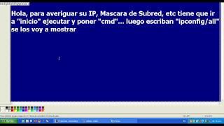 Como Buscar El IP De Mi Computadora