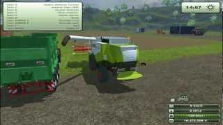 LS-2013 TEST MODS #1 CLAAS LEXION 550, FENDT TRISIX