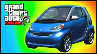 "GTA 5: NEW SMART CAR!! GTA 5 Online ""Hipster Update"