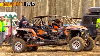 NICK MARTIN WINs in 4 SEATER TURBO RZR 1000. MadRam11 Багги Видео. Buggy Video.