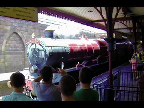 The Hogwarts Express Full Ride POV - Harry Potter- The Islands of Adventure & Universal Studios