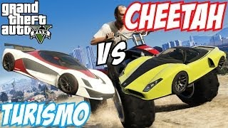 GTA 5 Grotti Turismo R Vs Cheetah #21 (GTA V)
