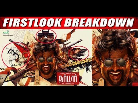 Darbar First Look Breakdown - Thalaivar167 - Rajinikanth - CinebillaTV