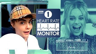 Margot Robbie HEART RATE MONITOR ft. Cara Delevingne, Alexander Skarsgård & Bullet For My Valentine