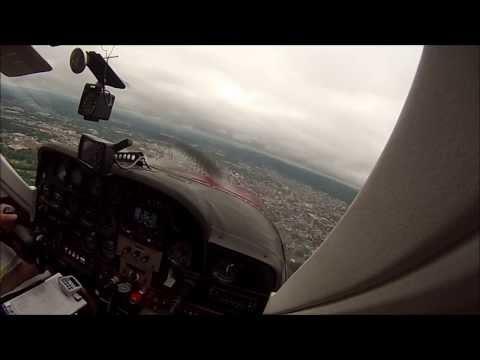 Single Pilot IFR in Cessna Cardinal - ILS rw 36 Reading