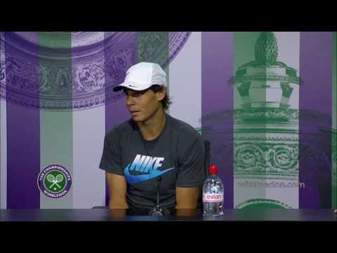 Rafael Nadal: 'I didn't play badly' - Wimbledon 2014