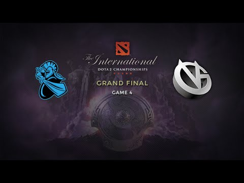 NewBee vs Vici Gaming, The International 2014, Grand Final, Game 4 + Ceremony