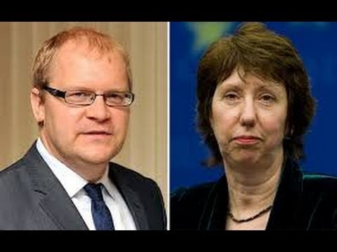 Ukraine, Appel intercepté Catherine Ashton/Urmas Paet (26/02/14) VOSTFR