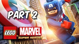 LEGO Marvel Super Heroes Gameplay Walkthrough Part 2