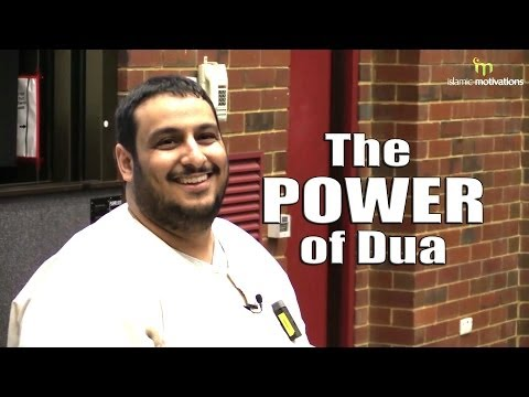The Power of Dua - Yahya Ibrahim