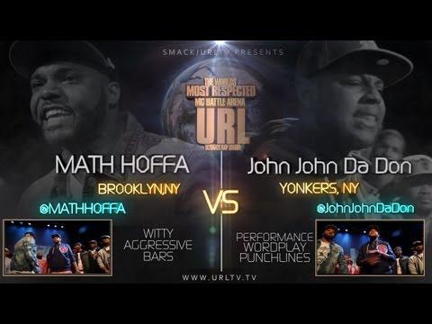 SMACK/ URL PRESENTS MATH HOFFA vs JOHN JOHN DA DON