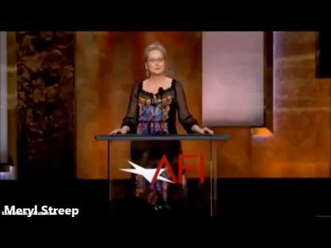 AFI 2014  Meryl Streep speaks a tribute to Jane Fonda.