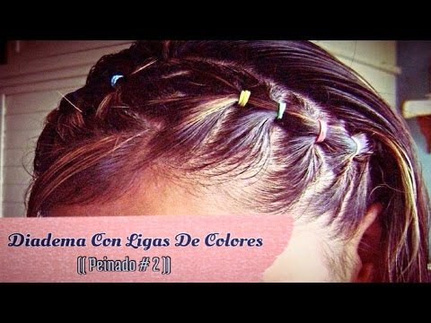 Peinado De Ligas Y Cristales Trenzas Peinados Para Ocasion ...