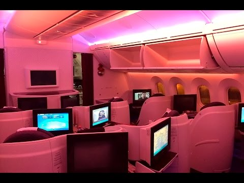 Qatar Airways | 787 Dreamliner | SIN DOH | Business Class