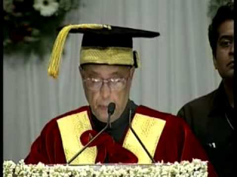 University has to be a temple of learning: President (Part 2)
