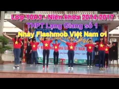 10A3 - Nhảy Flashmob Việt Nam ơi