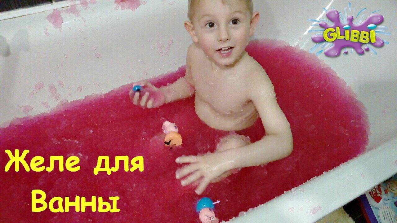 Желе для ванн своими руками