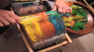 How To Make Puni Rolags On A Drum Carder With Soffsilk