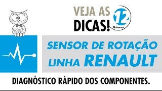 DICA MTE 12 – Sensor de Rotação Renault