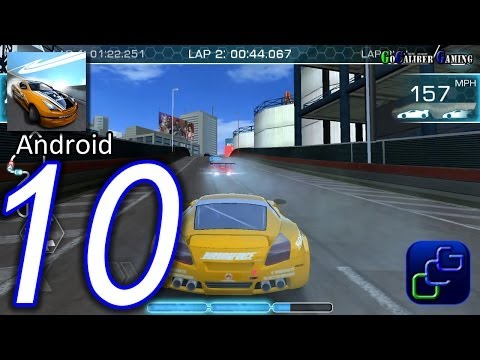 Ridge Racer Slipstream Android Walkthrough - Part 10 - Rookie Grand Prix: 3rd Tournament