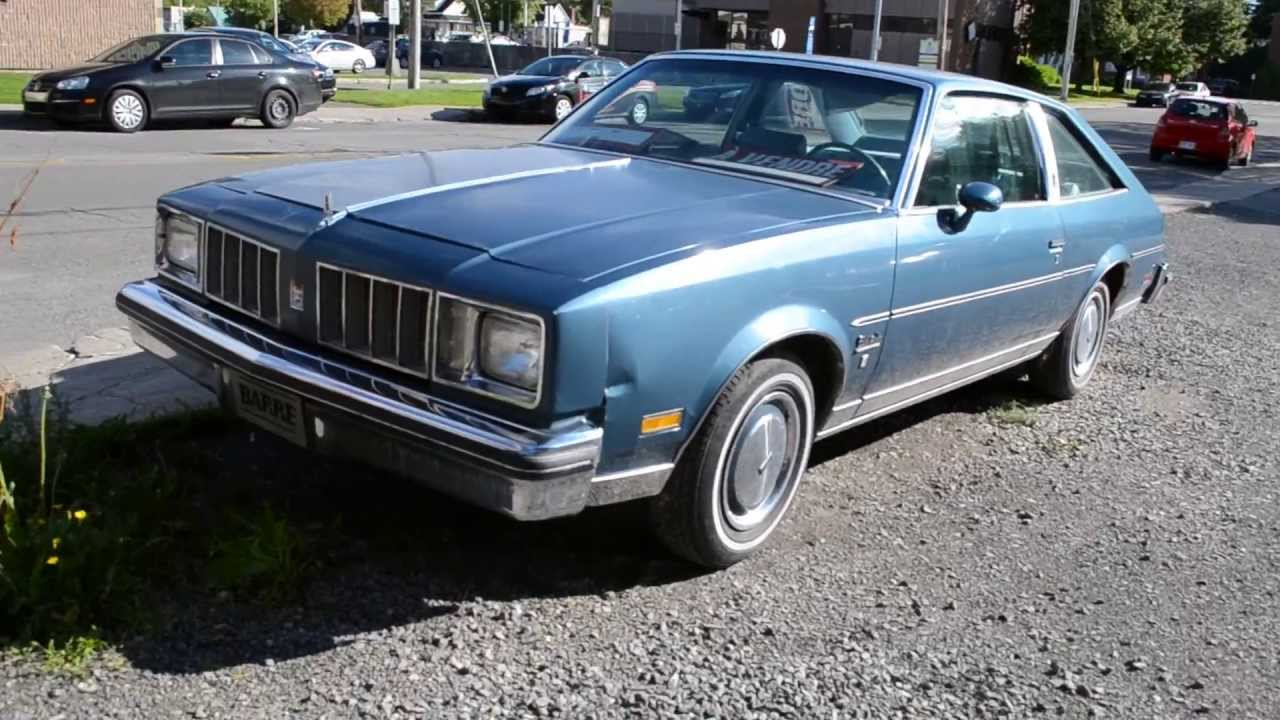 1979 oldsmobile cutlass salon sighting youtube