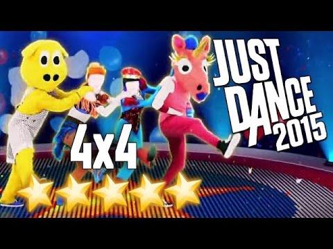 JUST DANCE 2015 - 4X4 -  * 5 stars