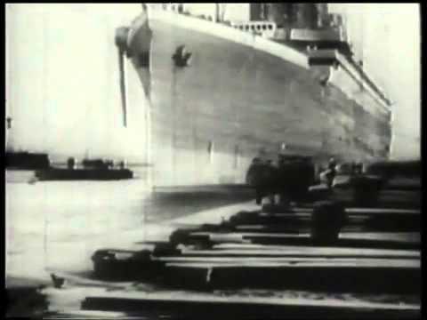 Video độc nhất vô nhị về con tàu định mệnh Titanic...