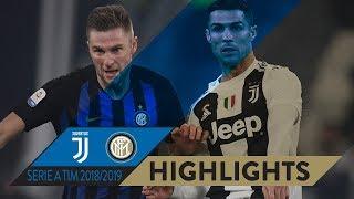 JUVENTUS 1-0 INTER   HIGHLIGHTS   Matchday 15 Serie A TIM 2018/19