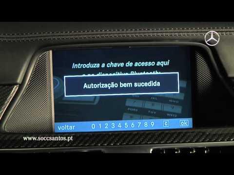 Emparelhamento de Telemóveis - Mercedes-Benz Soc. Com. C. Santos