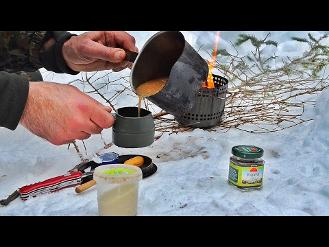 Last Coffee  ... Solo Winter Camping in the Forest | Day 4