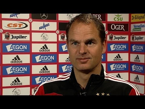 Frank de Boer over Jong Ajax