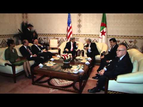 Secretary of State John Kerry's visit to Algeria 04.02-03,2014