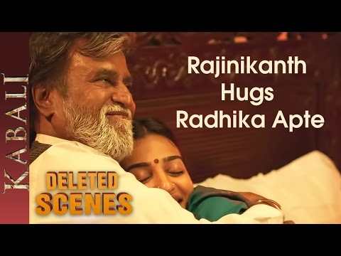 -Kabali Deleted Scenes - Rajinikanth and Radhika Apte Romantic Scene