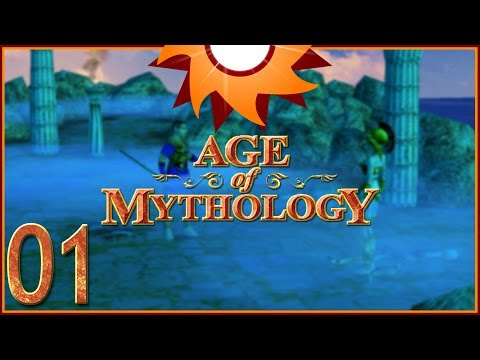 Age of Mythology - Mission 1 - Omens ...Birthday!...
